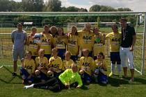 Nově se rodící tým mladších žákyň FK Teplice