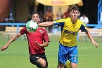 Zápas juniorské ligy mezi FK Teplice a AC Sparta Praha