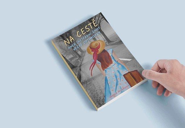 Obálka nové knihy, kterou chce vydat Tepličanka Andrea Pekárnová.