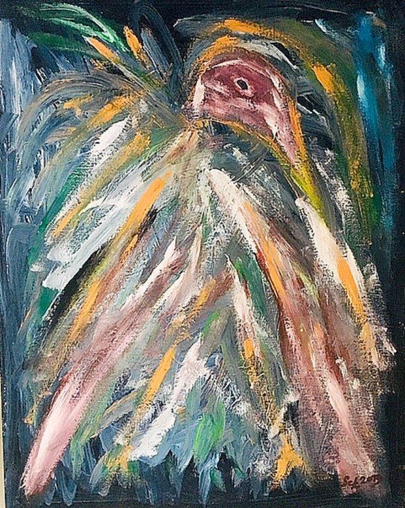 Ota Schnepp maluje přes 15 let.