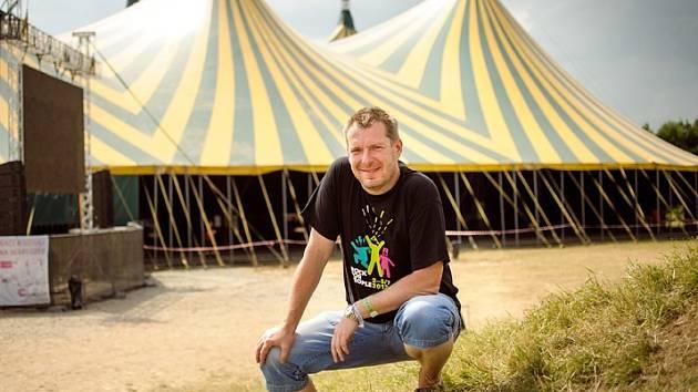 MICHAL THOMES, jeden z organizátorů festivalu RfP.