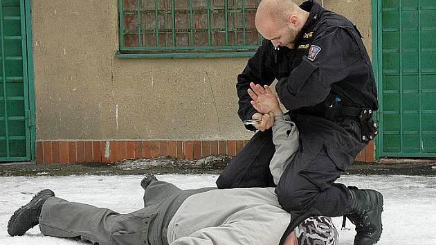 V teplickém školícím středisku pro praktickou přípravu policisty využívají úzké exkluzivní spolupráce s armádou