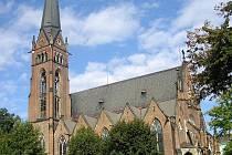 Kostel v Šanově v Teplicích.