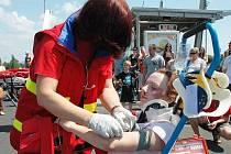 Den prevence, na kterém se podílel celý záchranný systém, byl věnovaný především dětem