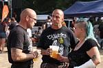 Z festivalu Rock u rybníka, který se konal v sobotu v Proboštově