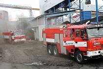 Havarijní cvičení prověřilo rychlost zásahu důlních hasičů v Elektrárně Ledvice