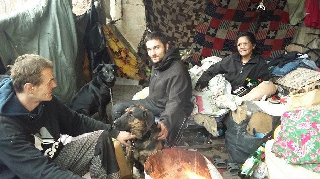 Bezdomovci v Teplicích