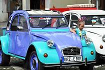 Setkání přátel vozů Citroën v Bílině
