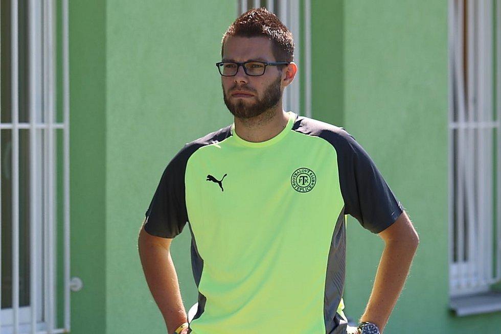 Martin Kovařík z Teplic, vášnivý hráč golfu a také milovník fotbalu