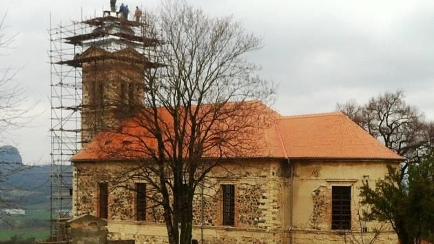 Kostel Mrzlice 2014