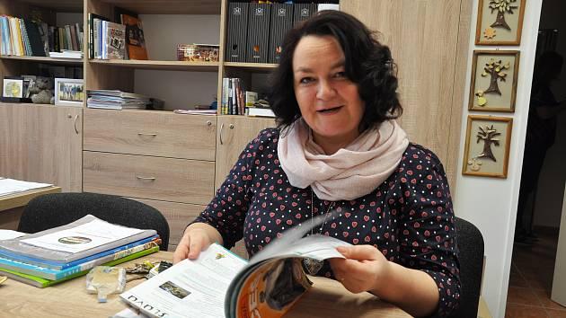 Andrea Pavlíčková, učitelka ZŠ Za Chlumem Bílina.