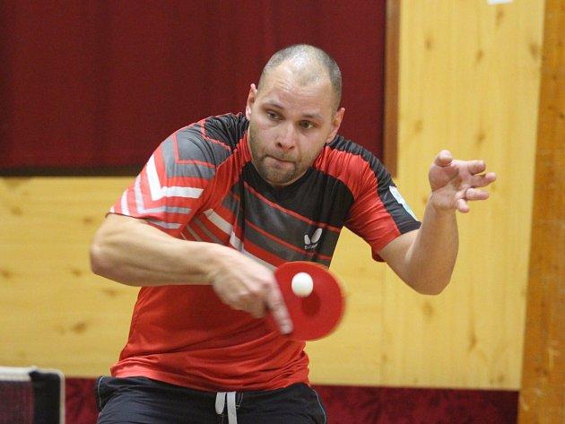 Regionální přebor v stolním tenisu - Petr Stehlík