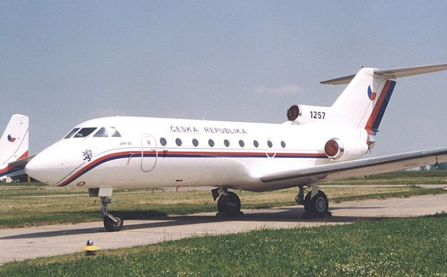 Jak-40, ilustrační foto (Zdroj: Ministerstvo obrany ČR)
