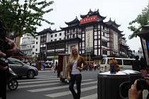 Studentka Taťána Makarenková navštívila Expo v Číně