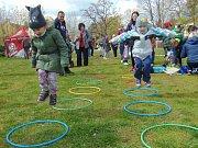 Veselé velikonoční odpoledne v Proboštově nezkazily ani rozmary počasí.
