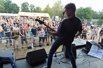 Festival Rock u rybníka v Proboštově.