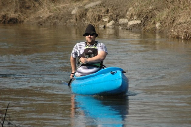 Odemykání řeky Bíliny