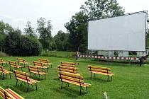 Letní kino v Duchcově na koupališti