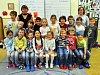 Na fotografii jsou žáci ze ZŠ Nové lázně, 1.B  třída paní učitelky Pavlíny Hejčkové.