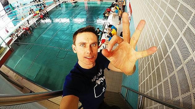 Freediver David Vencl v Rakousku