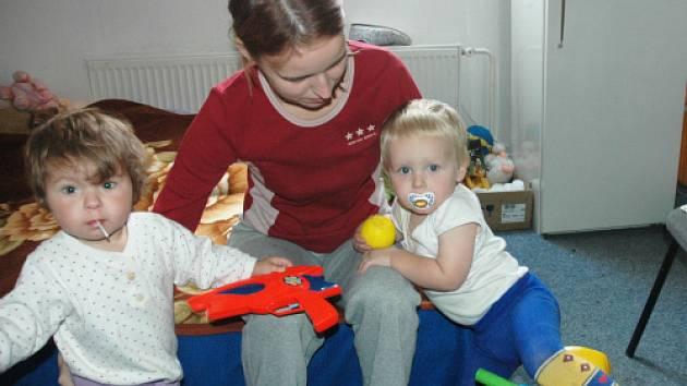 Maminka s dětmi