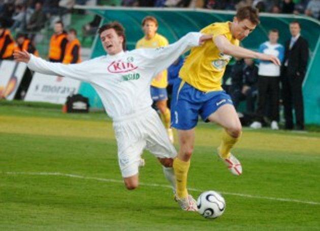 Z utkání FK Teplice proti Mostu.