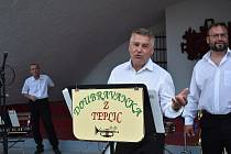 Koncert Doubravanky v Šanovské mušli v Teplicích