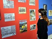 Teplice za 1. republiky -  výstava v Jízdárně teplického zámku.