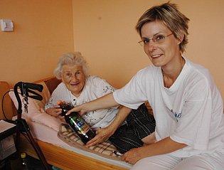Domov důchodců v Bystřanech je po rekonstrukci.