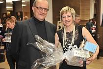 VÍTĚZKA PROMĚN 2014 Helena Olexová se svým manželem, který ji do Proměn přihlásil.