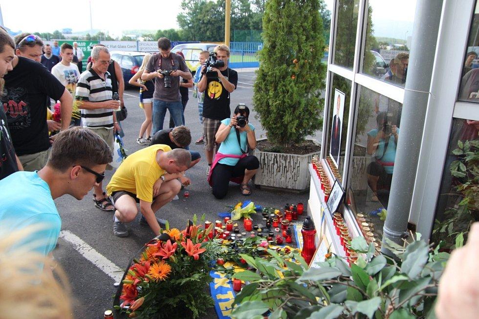 Uctění památky Františka Hrdličky