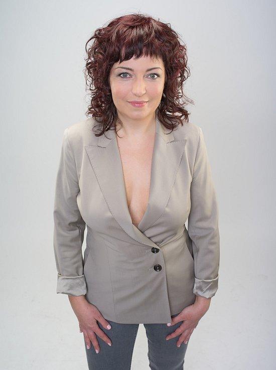 Lucie Hanusová (39 let) z Oseka po proměně.
