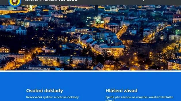 Web města Teplice.