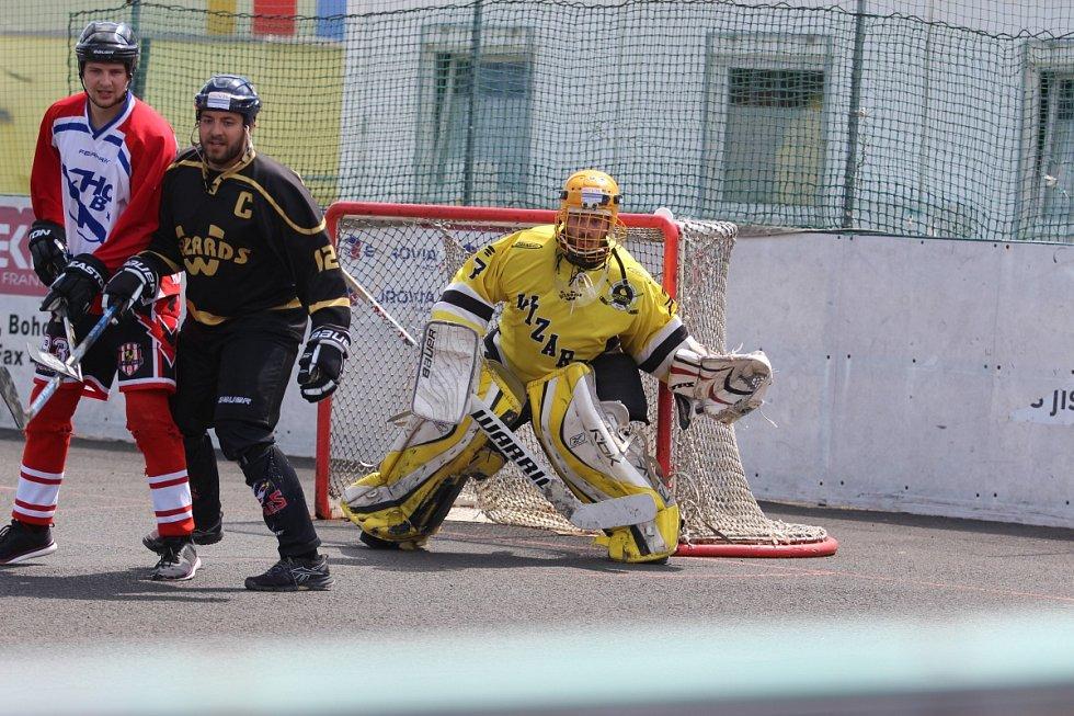 Hokejbalový turnaj v Krupce - Krupka vs. Šanov