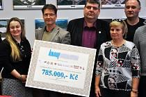 Knauf podpořil činnost neziskovek částkou 785 tisíc