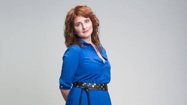 Markéta Burešová  po proměně.