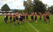 Zápas RLC Dragons - Orli Havlíčkův Brod se hrál v Proboštově. Poděkování divákům.