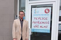 Volte číslo 6. Alternativu pro občany v Teplicích.