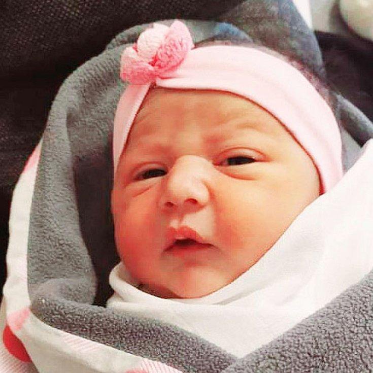 Linda Dudiová se narodila Sáře Tofi z Teplic 28. prosince v 9.05 hodin v teplické porodnici. Měřila 47 cm, vážila 2,85 kg