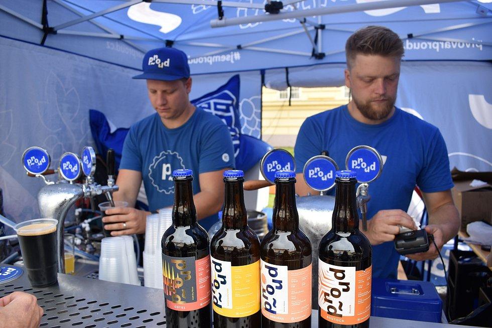 Teplický pivní rynek.