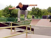 Ilustrační foto, ze skateparku.