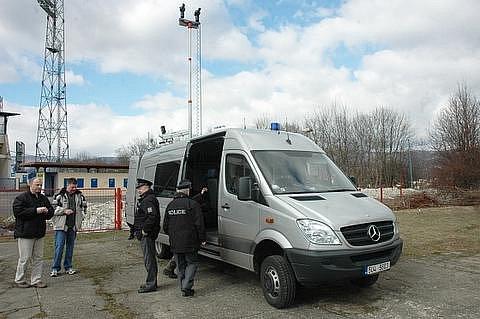 Speciální vozidlo pro potřeby policie