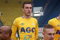 Alexandr Šušnjar v teplickém dresu