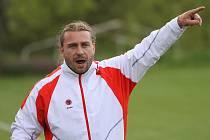 Trenér FK Duchcov Vladimír Pešek