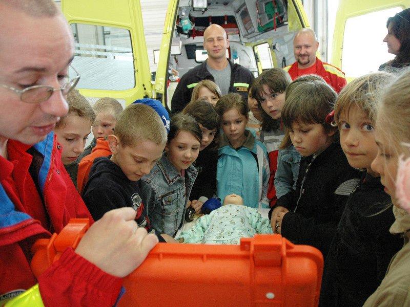 Den otevřených dveří u hasičů