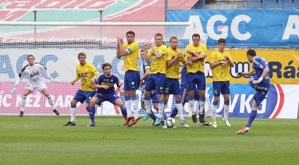 Teplice vypadly v poháru s Olomoucí