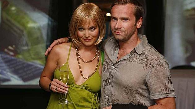 Herec Jan Révai s manželka Danielou Urbánkovou