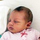 Emma Rose Vrbová se narodila Barboře Bolfíkové z Duchcova  29. července v 8.57 hod. v teplické porodnici. Měřila 50 cm a vážila 3,90 kg.