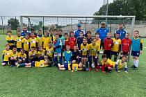 Fotbalové soustředění v Oseku