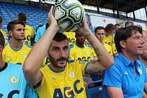Focení FK Teplice před sezónou